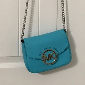 NWOT 'Tiffany's blue' Michael Kors crossbody