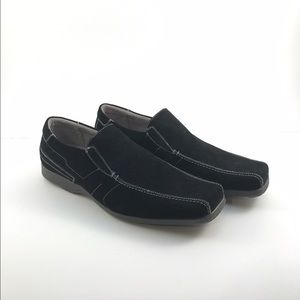 Stacy Adams Other - Stacy Adams Black Suede Men's Slip-On Size 9