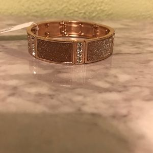 Charming Charlie Jewelry - Rose gold stretch bracelet