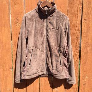 Columbia Jackets & Blazers - Columbia Interchange monkey fleece jacket brown L