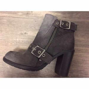 NEW ALL SAINTS SUEDE BOOTS