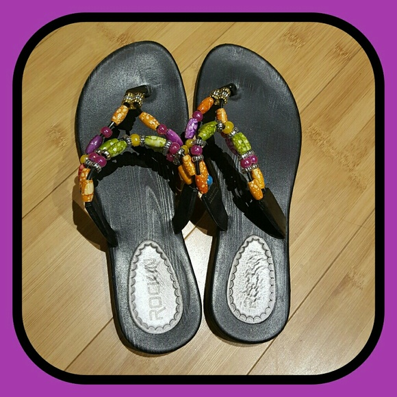 c2c8570ad15eaf Sexy Beaded Flip Flops. M 58e310b899086a29b0031c78. Other Shoes you may like.  Outwoods Sandals