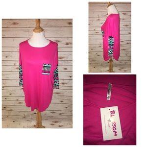 The Blossom Apparel Tops - New Buttery Soft Blossom Shirt Sz M