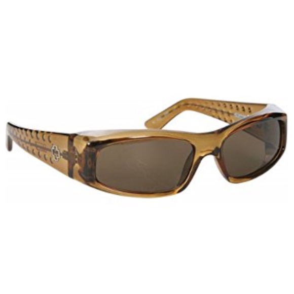 2c338cbac1d2 SPY OPTIC MC McGrath clear brown fade Sunglasses. M 58e311ffbf6df5f27203249f