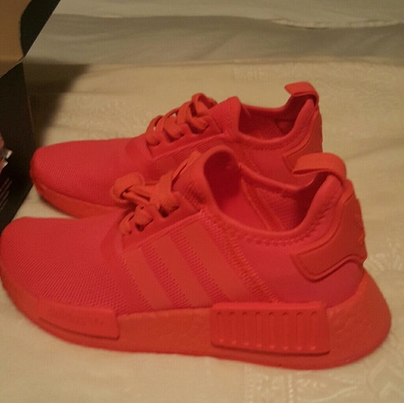 Adidas Shoes Nmdr1 Solar Red Poshmark