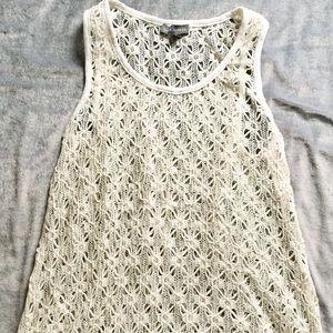 Vince Camuto Lace Crochet Women's Top