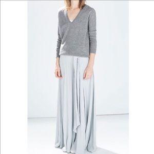 Zara Blue Wide leg pants