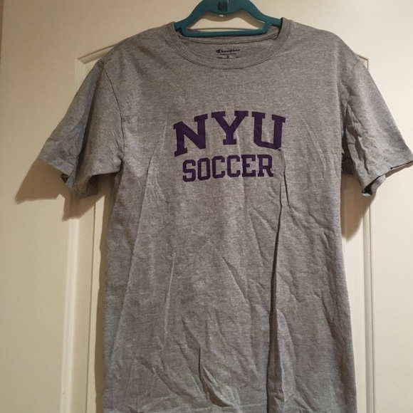 Champion Tops - Adult Small NYU Soccer Tee 1705c8e71