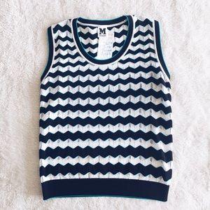 M by Missoni Tops - M Missoni Chevron Sweater Vest