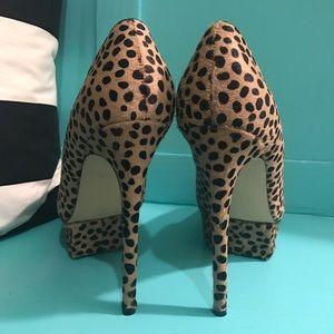 Shoemint Shoes - Real Ponyhair ShoeMint Animal Print Jess Heels 