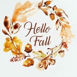 Who else is happy for fall!!