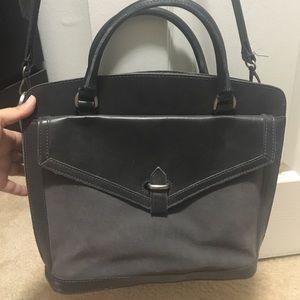 Navy Madewell Sloan Satchel purse