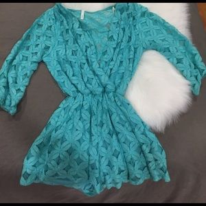 Sage Other - Turquoise romper