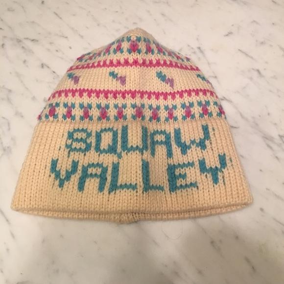 Vintage Squaw Valley beanie. M 58e3209213302a380d0369ba b68628502df