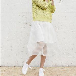 Numph Dresses & Skirts - Long white skirt