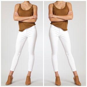 Mavi Denim - Mavi white super skinny Alexa Ankle jeans NWT