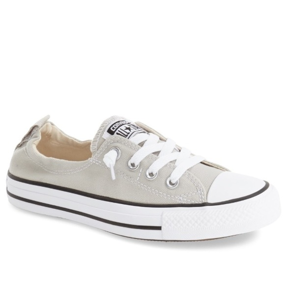 c7c93304996e Converse Shoes - Lightly used half lace up chuck Taylor converse