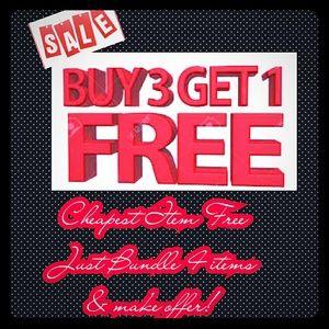 Everything B3G1 FREE