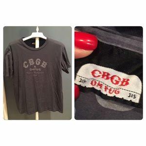 Vtg 90s CBGB's Tee