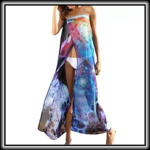 Other - Gorgeous Blue Beach Cover-Up  ~ High Quality