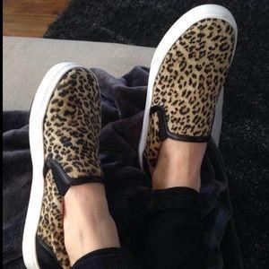 Boutique Shoes - Cheetah Sneaker Slip On Espadrilles