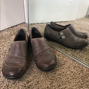 Clarks Shoes - Clarks 7M virtually new