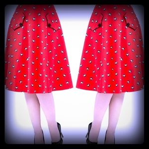 Voodoo Vixen Dresses & Skirts - Lucky 8 Ball Skirt   From Voodoo Vixen