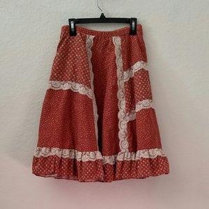 *FLASH SALE* Hippie Prairie Boho Skirt