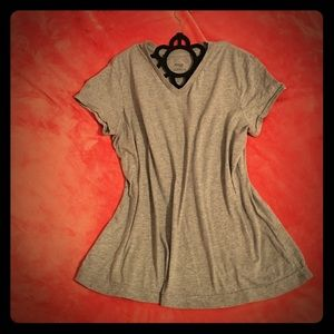 Danskin Now Tops - ✨Gray V-Neck✨