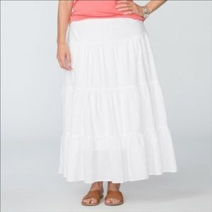 Chaps Dresses & Skirts - Chaps Tiered Maxi Skirt