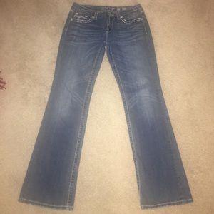 Little Miss Denim - Miss Me Easy Boot JE1043EL Womens Jeans Sz. 30
