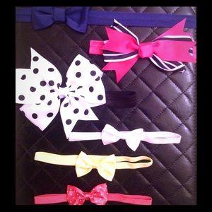 Other - Adorable Baby Girl Ribbon Headband Bundle