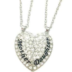 """October Love Jewelry - SALE!💖Mother Daughter """"Besties"""" Necklace Set!💖"""