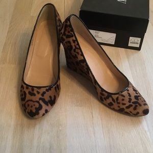 Calf hair wedges from J Crew Collection.  Size 11M