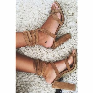 Sabo Skirt Shoes - Billini Strappy Heels