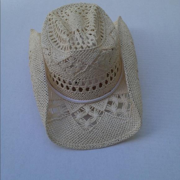 fd47c4b3 NWOT Somher Mexican Boho Chic Straw Cowboy Hat. M_58fd38e3a88e7ddd47025d24