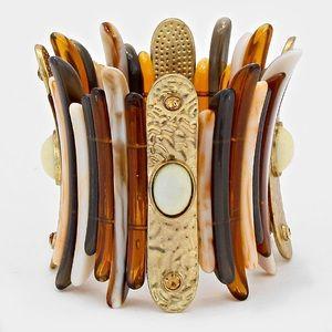 Marble Stone Stretch Bracelet