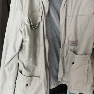 alpha industries Other - Men's alpha industries flight jacket