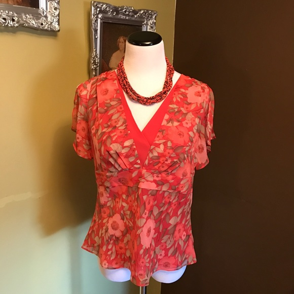 Blouse With Open Sleeves 77