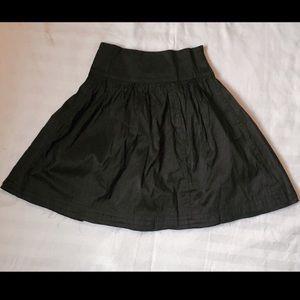 Calypso St. Barth Dresses & Skirts - Calypso St. Barth Raw Edge Black Mini Skirt