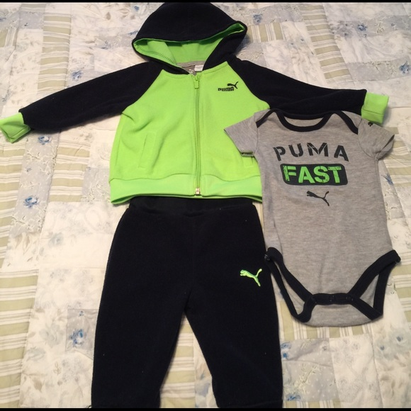 Baby boy 6-9 months jogger suit