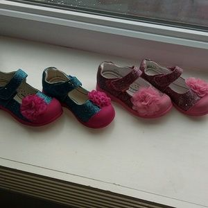 pediped Other - Two pairs of adorable toddler size8 Mary Jane's