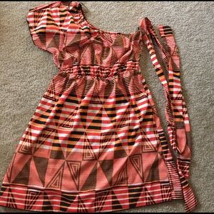 Dresses & Skirts - One shoulder dress-Charming Charlie's size S