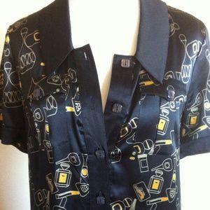 Original Penguin Dresses & Skirts - Cute Silk Blend Shirtdress by Original Penguin