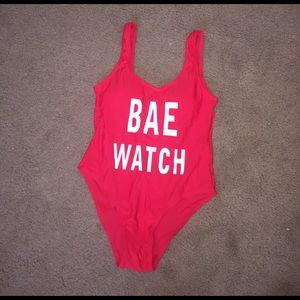 Other - Bae watch one piece swimsuit