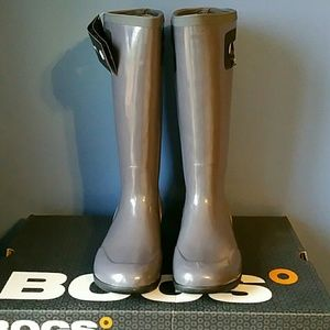 Bogs Shoes - Gray Bogs, size 8, new with box and tags