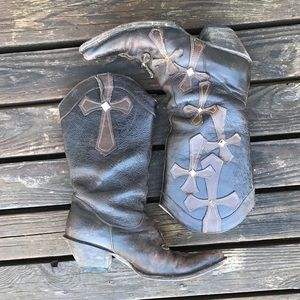 Stetson Shoes - Stetson cross boots