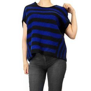 Free People Tops - Free people wool striped blue top