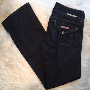 Hudson Jeans Denim - Hudson Triangle pocket slim boot jeans 27