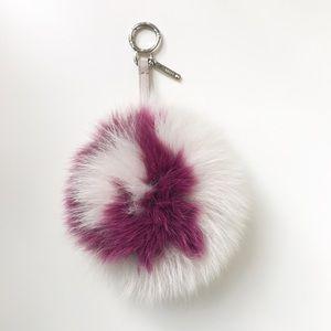Fendi Fur Ball Key Chain